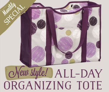 Monthly Special: All-Day Organizing Tote