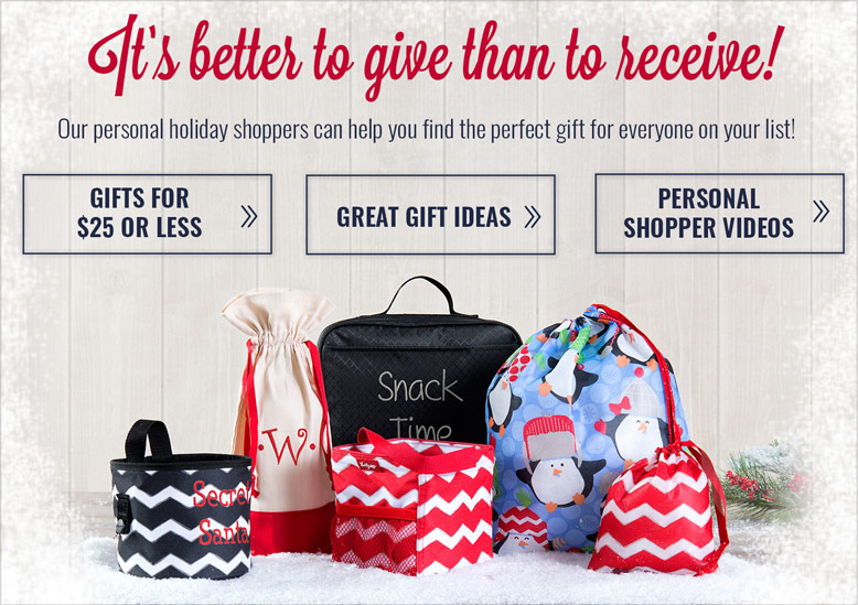 Spread Holiday Cheer! Theese exclusive specials were made for gifting! See more.