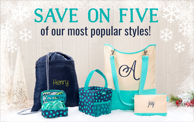 Save on five of our most popular styles!