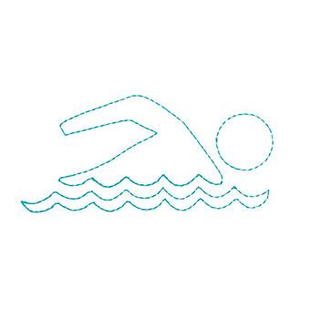 Swimming Icon-It