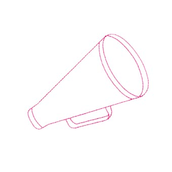 Cheer Megaphone Icon-It