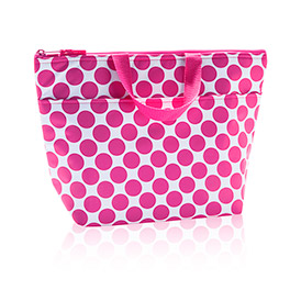 Thermal Tote (URU) in U R U Pink Spotty Dot  - 3000