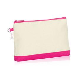 Mini Zipper Pouch (U R U) in U R U Natural (w/ Pink) - 3013