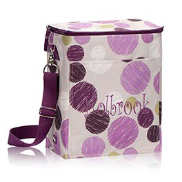 Picnic Thermal Tote in Sketchy Dot - 3034