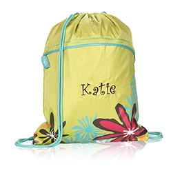 Cinch Sac in Lime w/ Daisy Craze - 3039
