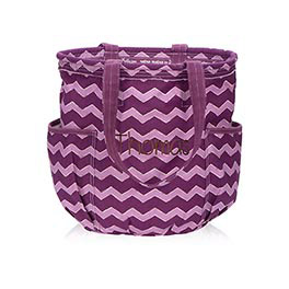 Retro Metro® Bag in Plum Chevron - 3218