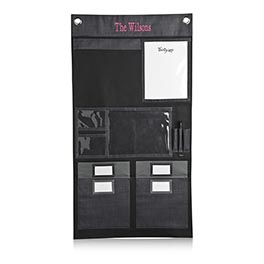 Hang-Up Home Organizer in Black Cross Pop - 3458