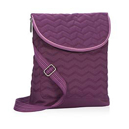 Vary You™ Backpack Purse in Plum Quilted Chevron - 4196