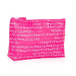 Medium Thermal Zipper Pouch (URU) in U R U Words - 4363