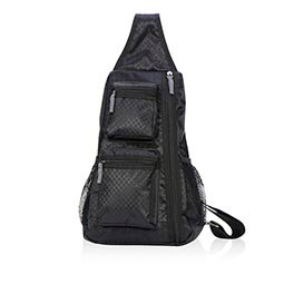 Sling-Back Bag in Black - 4538