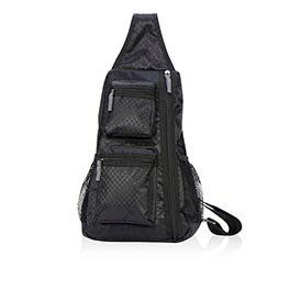 Sling-Back Bag in Black - 4538