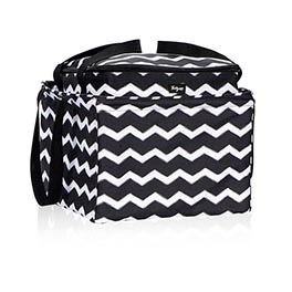 Perfect Potluck Set in Black Chevron - 4786