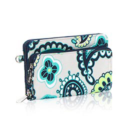 Perfect Cents Wallet in Paisley Day - 4808