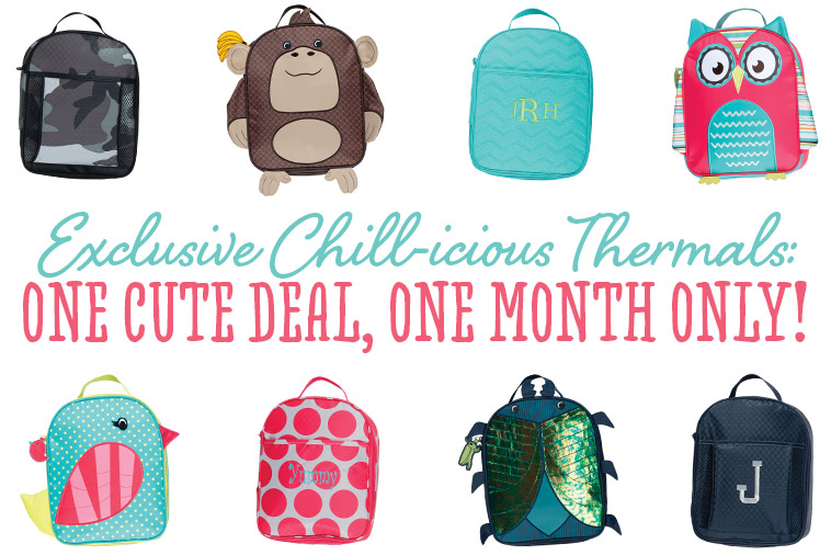 Exclusive Chill-icious Thermals: One Cute Deal, One Monthly Only!