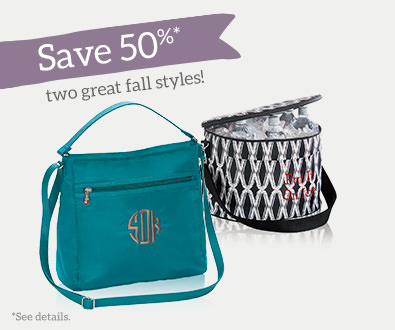 Save 50% off two great fall styles!