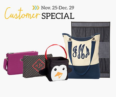 Customer Special - Choose up to three giftables at amazing prices with every $35 spent.
