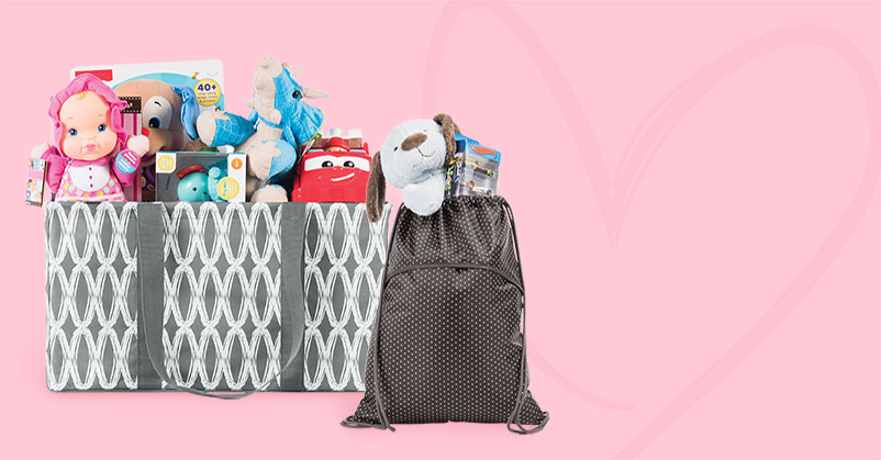 Thirty-One visits the Today show Dec.1 to take part in the annual Today Show Toy Drive!