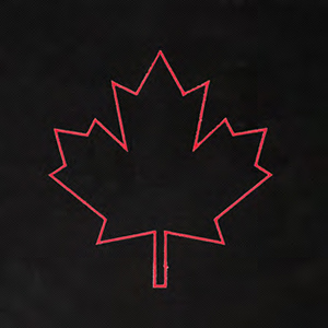 Canada Maple Leaf Icon-It