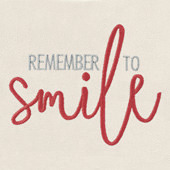 Remember to Smile Icon-It