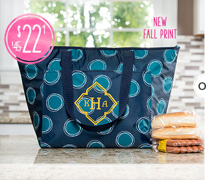 Tote-ally Thermal in Our New Fall Print