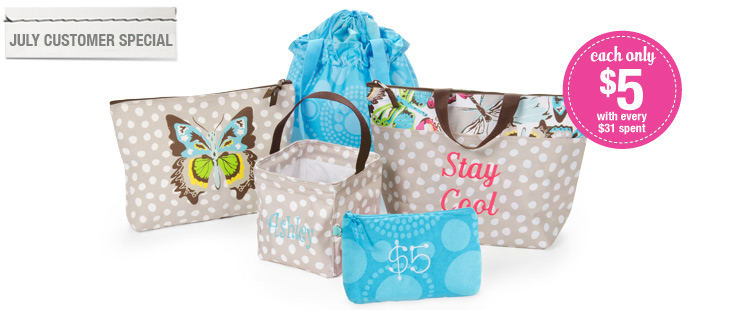 Spend $31 and choose from 5 products for only $5 - @ThirtyOne