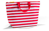 Red Thermal Wave Tote