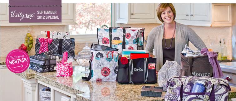 Spirit Collection - New This Month Purple and Spirit Cinch Sacs - August Customer Special -  @ThirtyOne