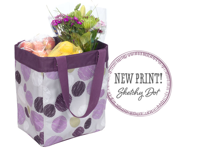 Essential Storage Tote in Sketchy Dot - New print! Sketchy Dot