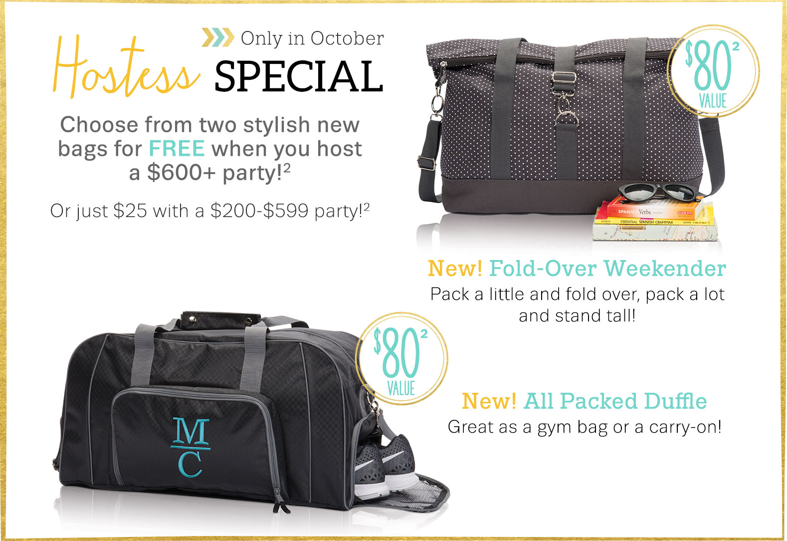 Hostess Special - This August Only!